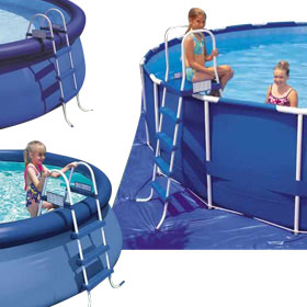 Above Ground Pool Ladders