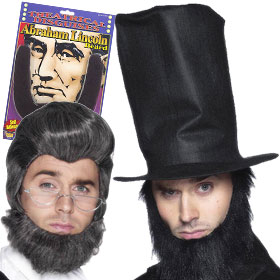 Abraham Lincoln Beards & Wigs