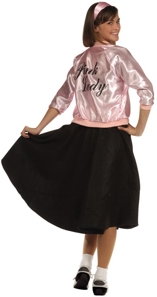 Adult 50's Pink Lady Jacket