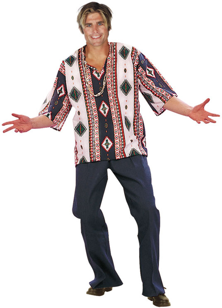 Adult 60's Peace Child Dashiki