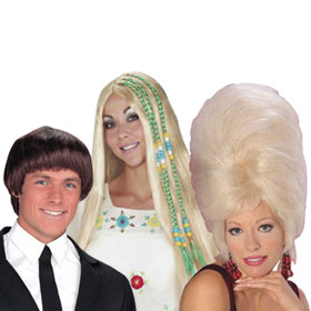 Adult 60s Wigs
