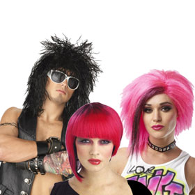 Adult 80s Wigs