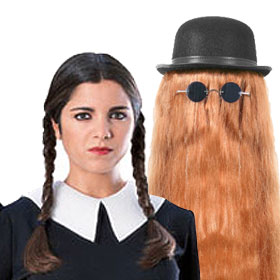 Adult Addams Family Wigs