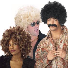 Adult Afro Wigs