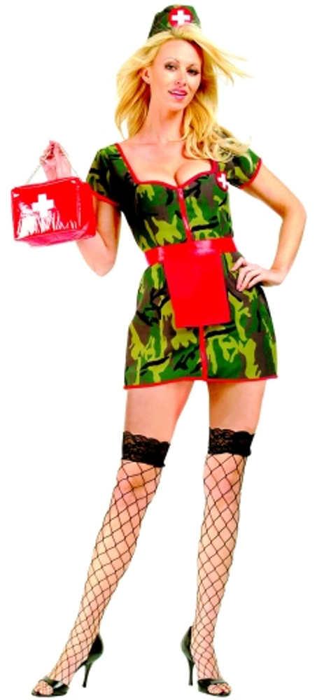 Adult Army Flash Costume
