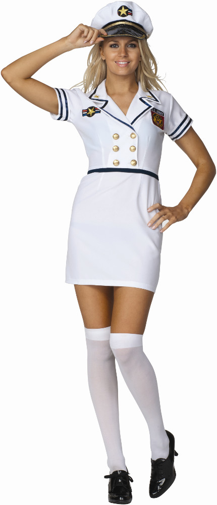 Adult Ava Navy Pinup Costume