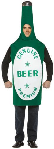 Adult Beer Bottle Costume