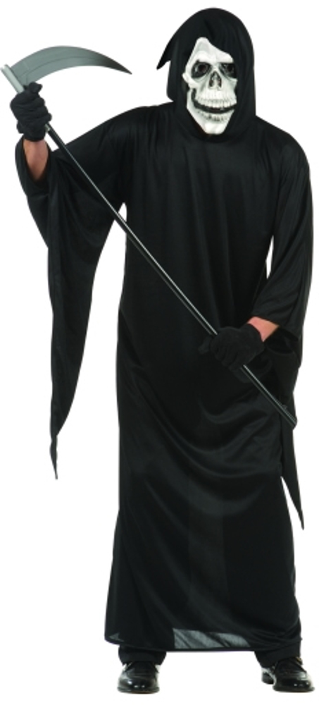 Adult Black Grim Reaper Robe