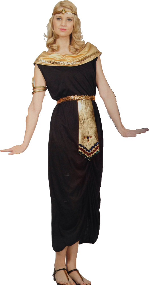 Adult Black Queen Of The Nile Costume