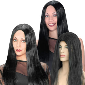 Adult Black Witch Wigs