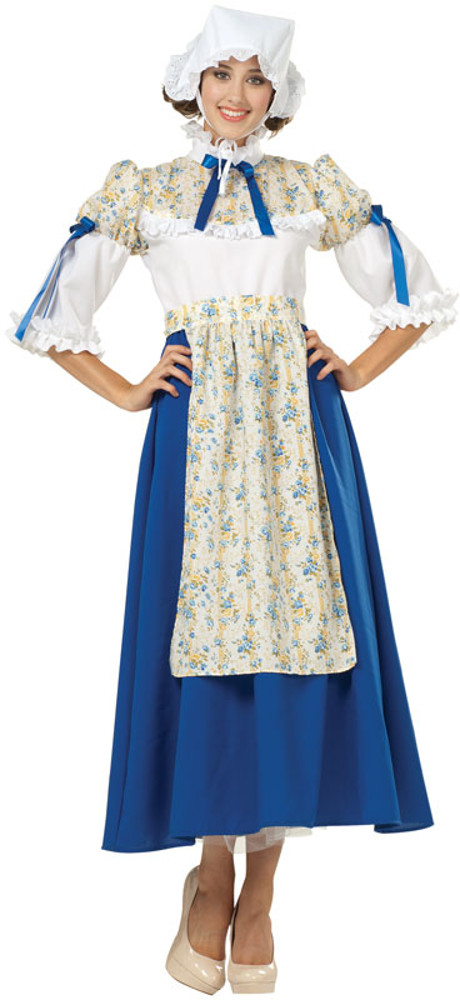 Adult Blue Colonial Bella Costume