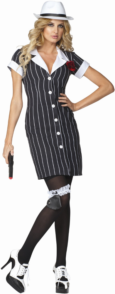Adult Bonnie Sly Pinup Dress Costume