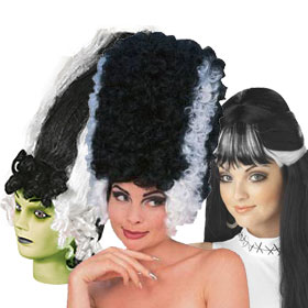 Adult Bride of Frankenstein Wigs