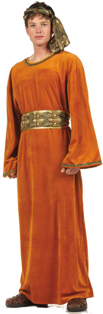 Adult Brown Velvet Wiseman Costume