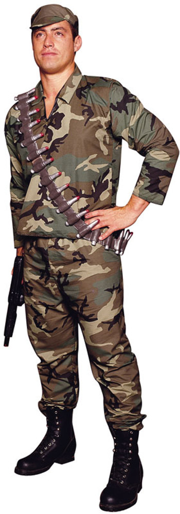 Adult Camouflage Commander