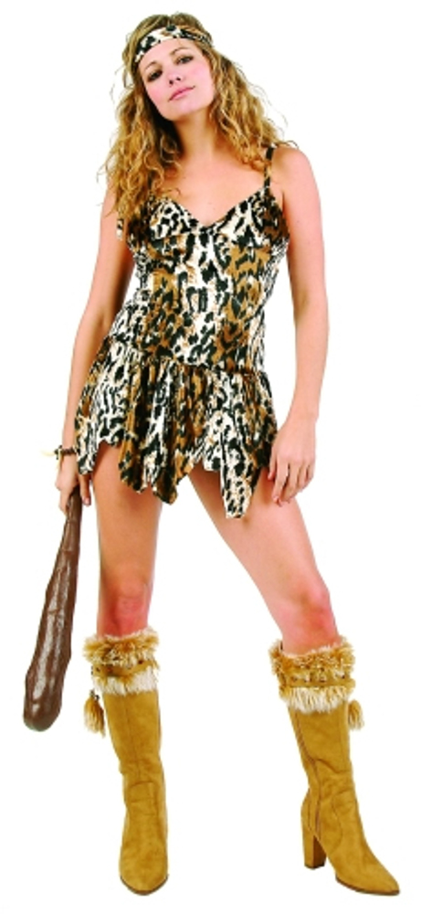 Adult Cave Babe Costume