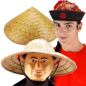 Adult Chinese Hats