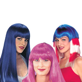 Adult Color Toned Wigs