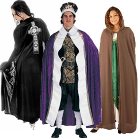 Adult Costume Capes, Cloaks & Robes