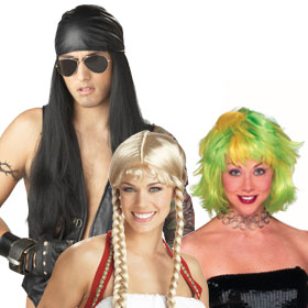 Adult Costume Wigs