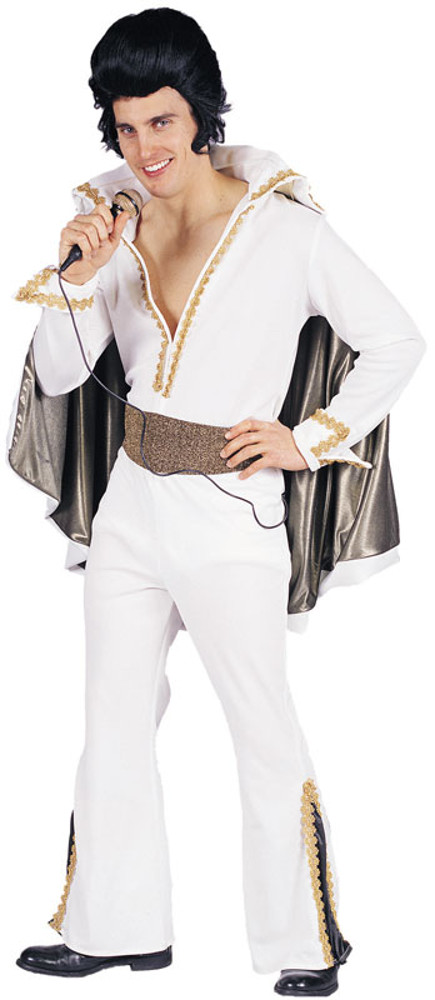 White elvis costumes elvis costumes for Rock star photos for sale