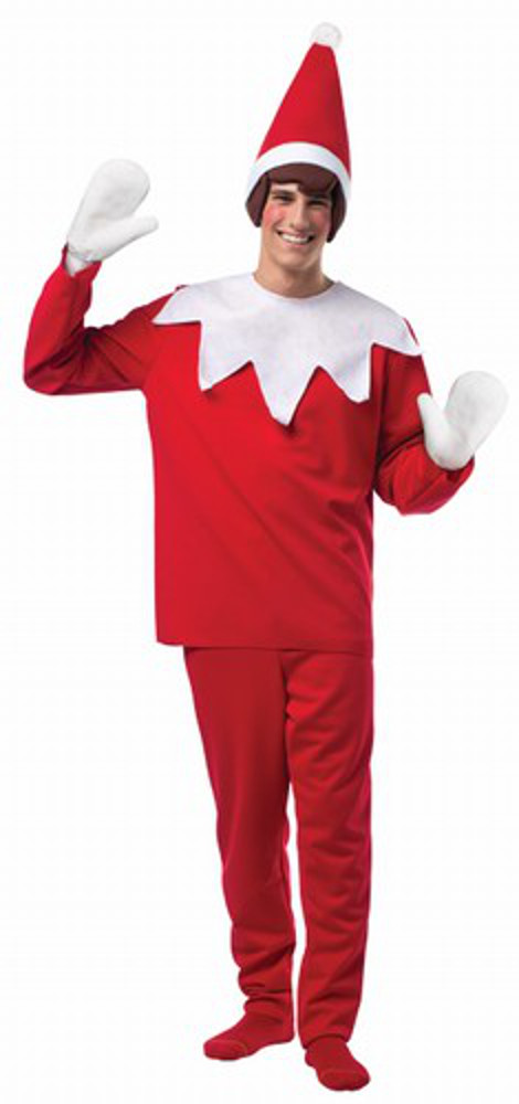 Adult Elf On A Shelf Costume