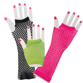 Adult Fishnet Gloves