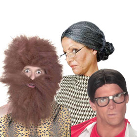Adult Funny Wigs