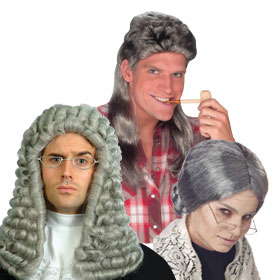 Adult Gray Wigs