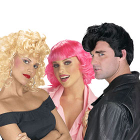 Adult Grease Wigs