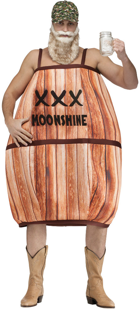 Adult Hillbilly Barrel Costume