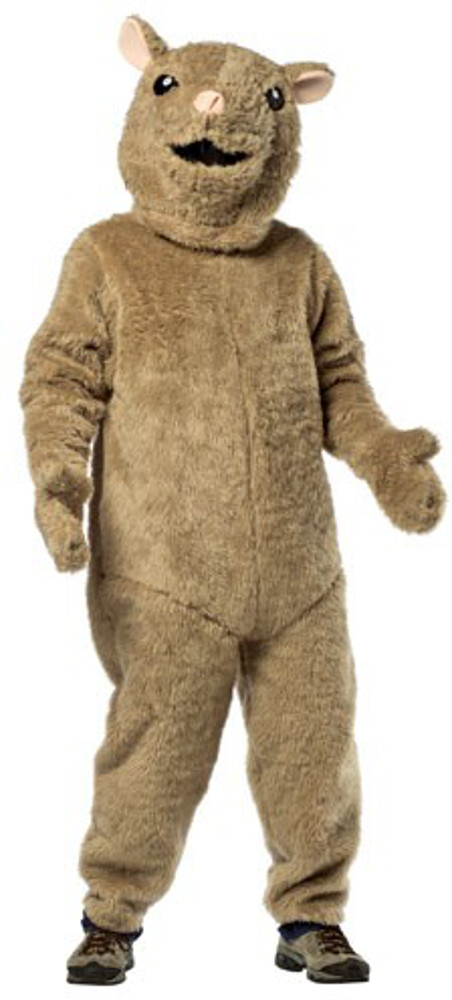 Adult Hip Hop Hamster Costume  sc 1 st  Brands On Sale : brown mouse costume  - Germanpascual.Com