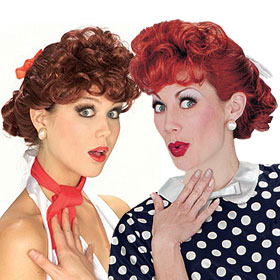 Adult I Love Lucy Wigs