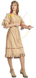 Adult Native American Indian Maiden Costume