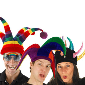 Adult Jester Hats