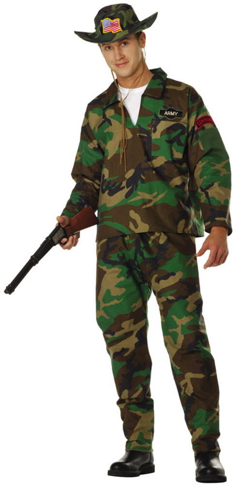Adult Jungle Commando Costume