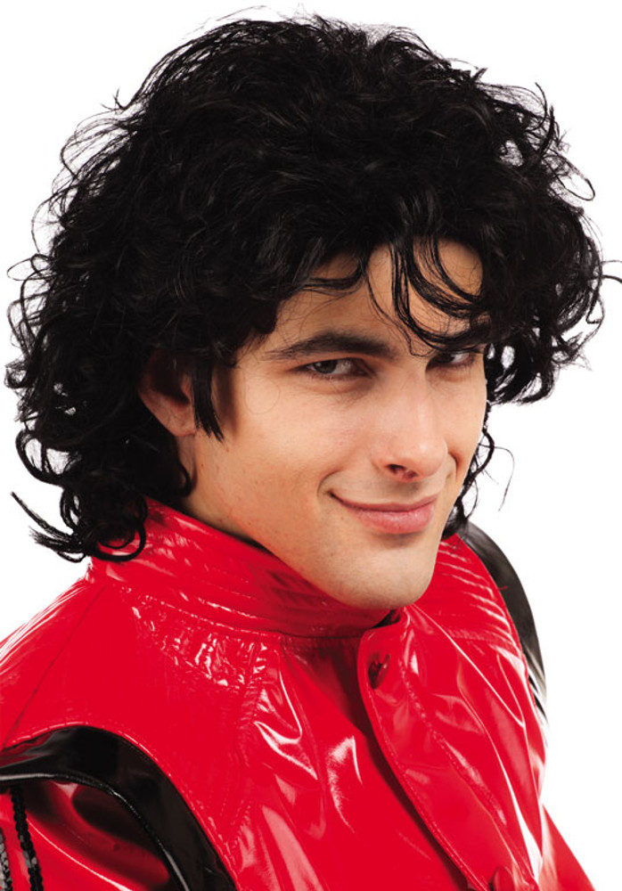 Adult King Of Pop Wig