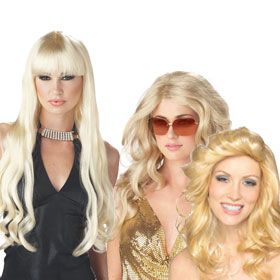 Adult Long Blonde Wigs