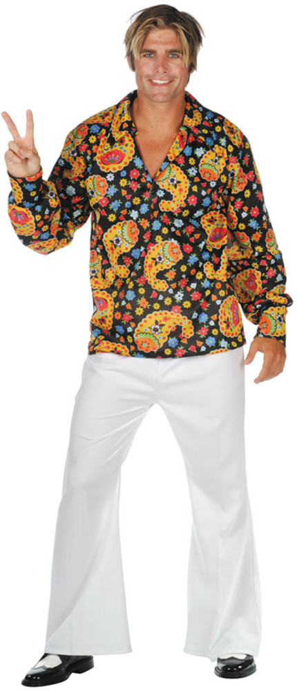 Adult Plus Size Disco Dude Costume | Disco Costumes | brandsonsale.com
