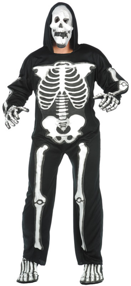 Adult Plus Size Eva Skeleton Costume