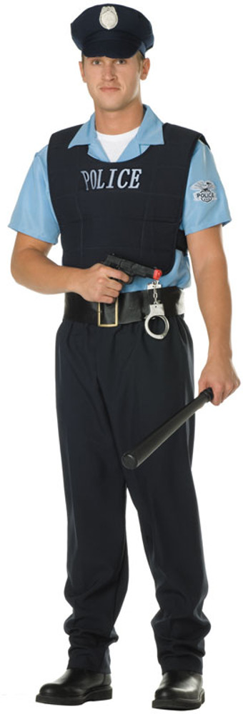 Adult Plus Size Law Enforcer Costume
