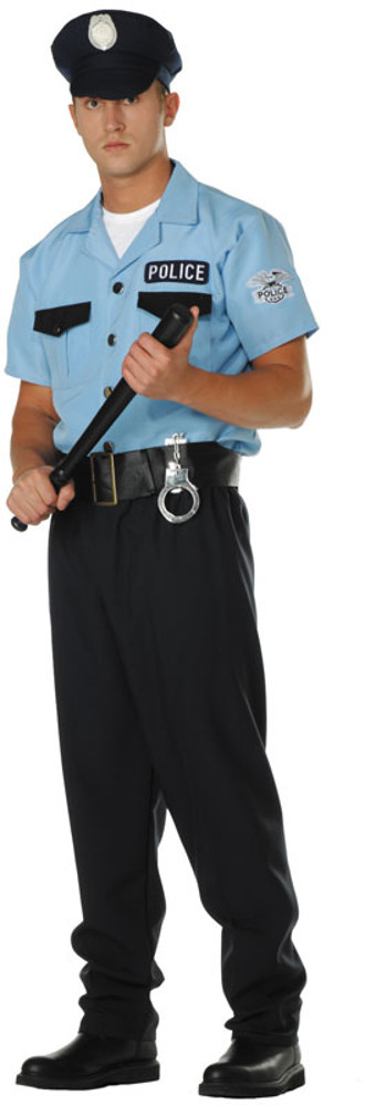 Adult Plus Size On Patrol Costume