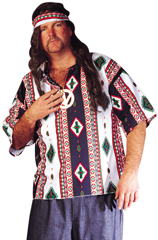 Adult Plus Size Peace Child Dashiki
