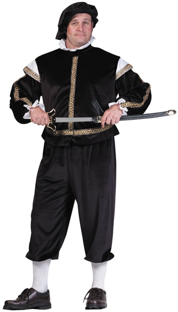 Adult Plus Size Prince Phillips Costume
