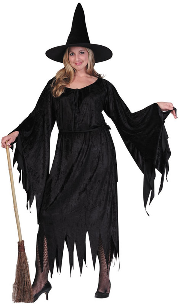 Adult Plus Size Sexy Witch Costume