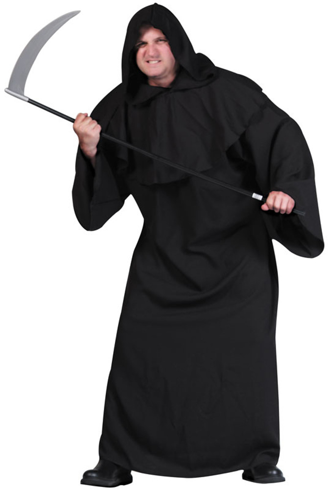 Adult Plus Size Super Deluxe Horror Robe Costume