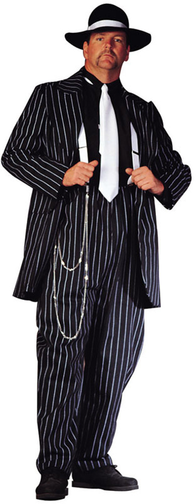 Adult Plus Size Zoot Suit Costume