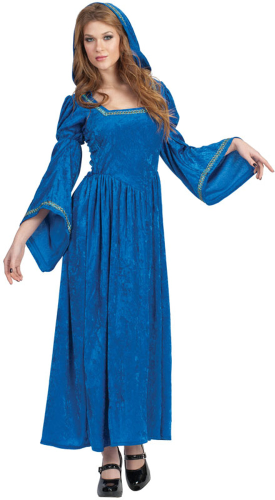 Adult Renaissance Bell-Blue Costume