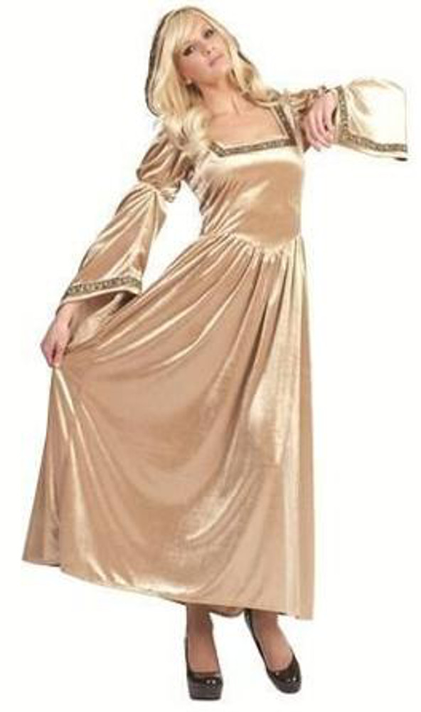 Adult Renaissance Bell-Gold Costume