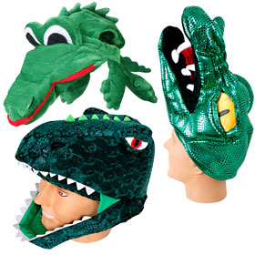 Adult Reptile Hats